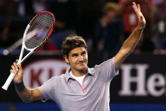 Federer, ganador en Melbourne en cuatro ocasiones (2004, 2006, 2007 y 20...