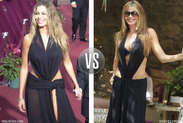 La colombiana se presentó en Premio Lo Nuestro del 2000 con un vestido m...