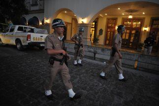 Agentes antidrogas de Guatemala capturaron el domingo a Walter Alirio Mo...