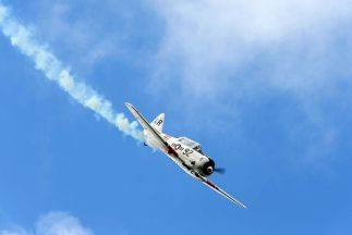 Dos avionetas chocaron para después estrellarse en el desierto al norte...