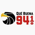 Logo Dallas  Qué Buena 94.1 FM