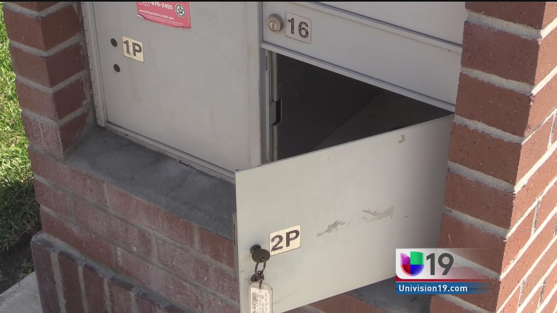 Aumentan robos de correspondencia en Stockton