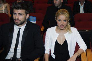 Piqué y Shakira.