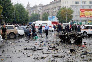 El coche-bomba estalló en las afueras de un mercado en el último día del...