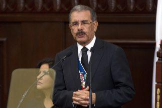 Danilo Medina, presidente de República Dominicana.