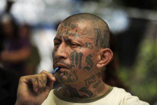 Pandilleros salvadoreñas.