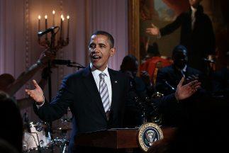 Barack Obama interpretó algunas estrofas de 'Sweet Home Chicago' durante...