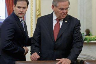 Bob Menéndez y Marco Rubio.