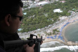 """La policía detuvo a miembros de la organización criminal """"La Barredora""""."""