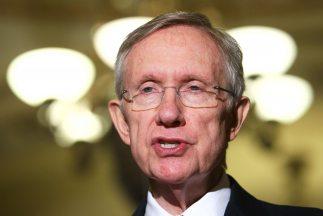 El líder de la minoría demócrata del Senado, Harry Reid (Nevada).