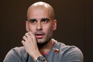 Guardiola confirmó su interés por entrenar en Inglaterra.