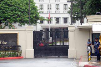 La misión diplomática afirmó en un comunicado que sólo permanecerá en su...