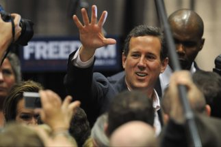 El ex senador por Pennsylvania, Rick Santorum, ganó la primaria republic...