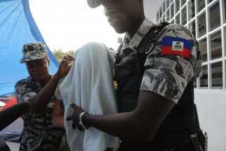 Policías dominicanos.