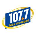 Logo Austin  107.7 FM Mas Variedad