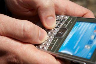 El agresor envió a través de su celular una fotografía a la hermana de s...
