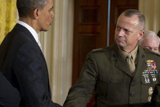 El general Allen fue puesto bajo investigación por decisión del propio O...