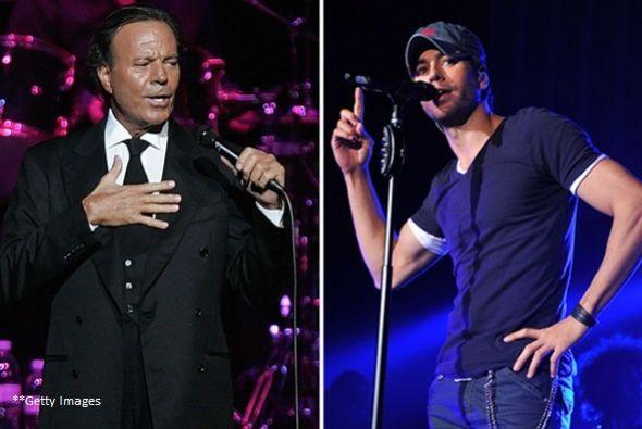 Enrique y su padre nunca compartirán los micrófonos, al menos eso fue lo...