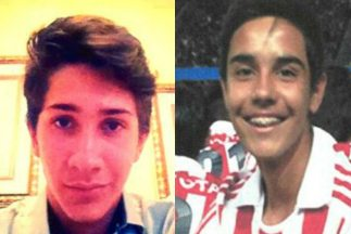 Luis Antonio Ortiz y Andrés Barba tenían 15 años. La imágenes fueron tom...