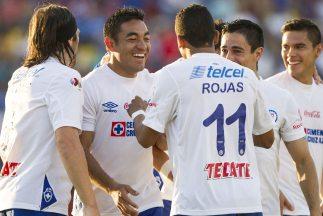 Cruz Azul se aprovechó del mal momento del Atlante y los goleó.