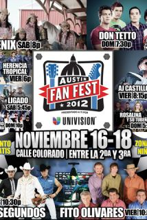 Austin Fan Fest.