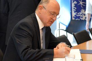 Timerman se reunió en Nueva York con el presidente del Consejo de Seguri...