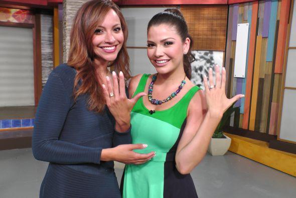 Satcha Prietto y Ana Patricia González dieron la nota romántica esta sem...
