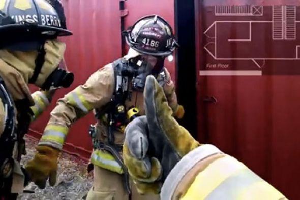 Google Glass también puede ayudar a los bomberos.