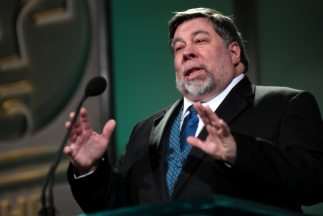 Steve Wozniak visitó la Ciudad de México para dar una ponencia.