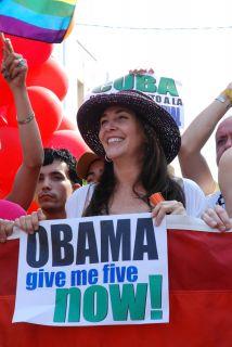 """Mariela Castro, hija del presidente Raúl Castro, afirmó que """"votaría a O..."""
