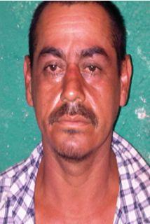 """Javier Beltrán Arco, alias """"El Chivo"""", de 39 años, presunto jefe de un g..."""