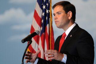 El senador republicano por el estado de Florida, Marco Rubio.