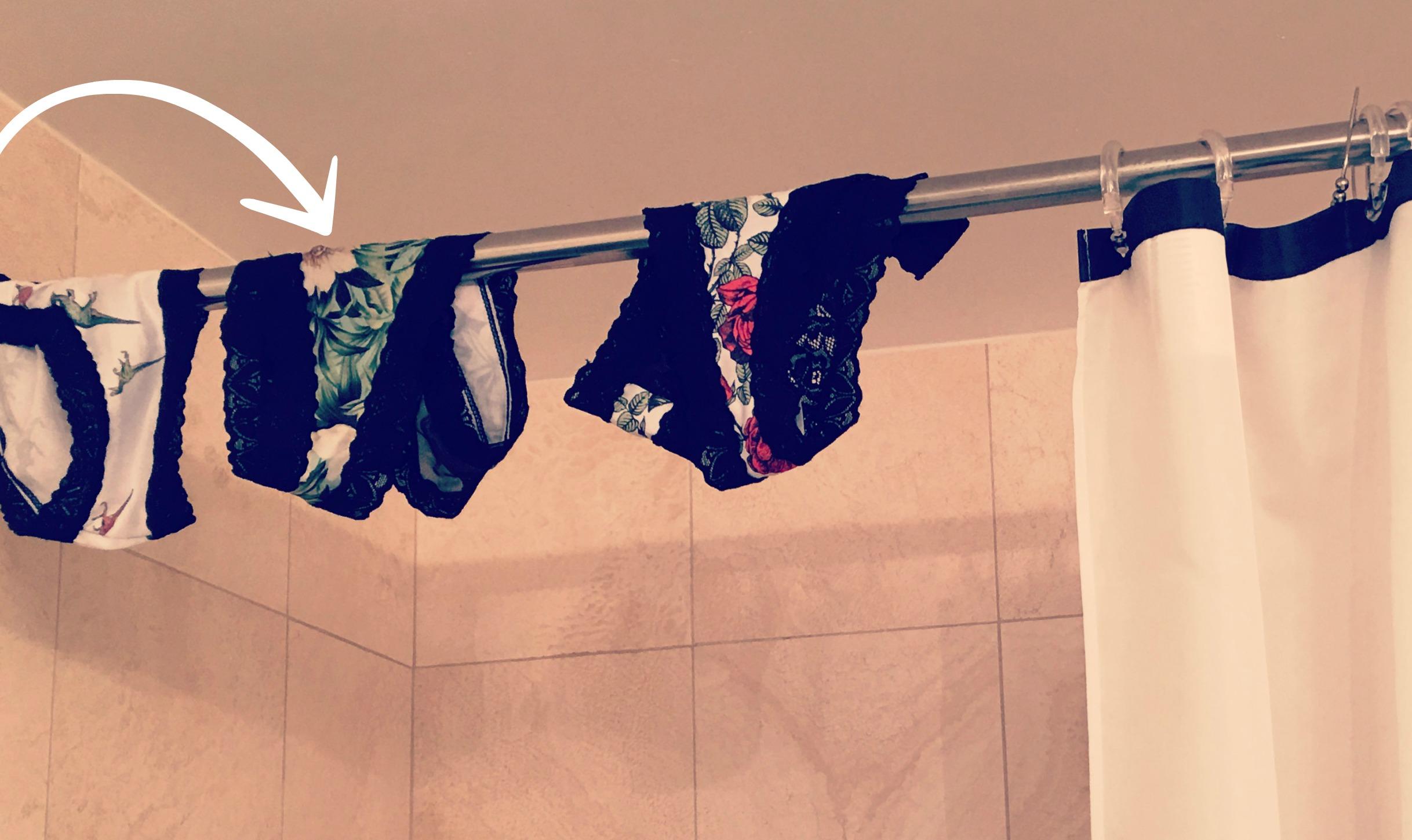 Por qu lavamos los panties en la ducha y otras cinco for Porque gotea la regadera