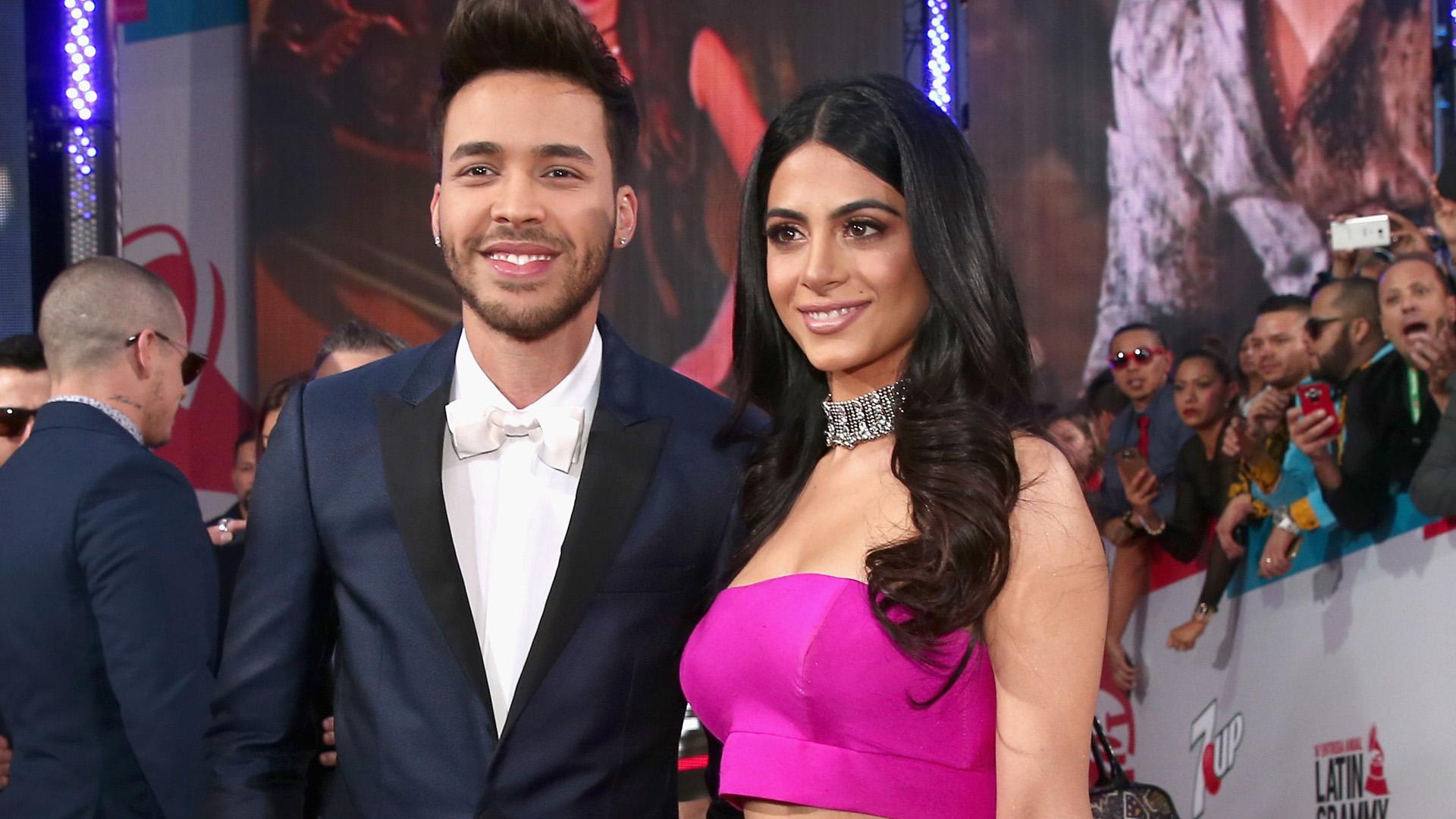 Al fin Prince Royce presentó a su novia Emeraude - Univision