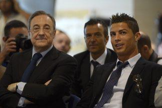 El presidente del Madrid no paró de alabar las cualidades del jugador po...