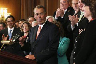 El presidente del Congreso, John Boehner (republicano de Ohio). En sus m...