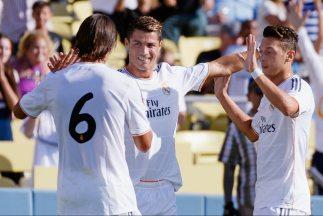 Ronaldo marcó el primer gol para el Real Madrid.