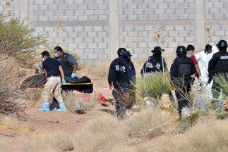 El primer cadáver fue encontrado dentro de una bolsa de plástico negra.