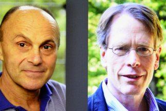 Los estadounidenses Eugene F. Fama, Lars Peter Hansen y Robert J. Shille...