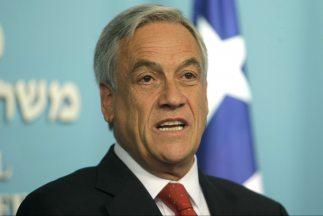 El presidente de Chile, Sebastian Piñera ha visto afectada su popularida...