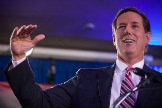 Rick Santorum fue el gran ganador de Iowa.