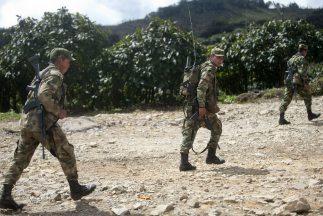 Miembros del Ejército colombiano.