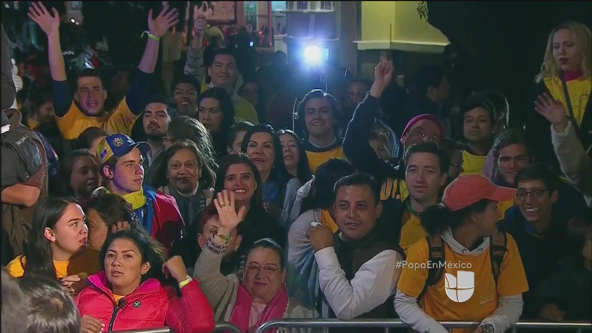 Así fue el recibimiento en México al papa Francisco