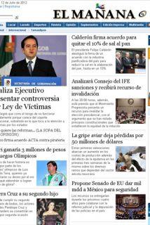 """El diario mexicano El Mañana de Nuevo Laredo reiteró que evitará """"reprod..."""