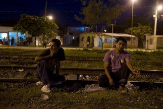 México, paso obligado de migrantes centroamericanos en su camino para ll...