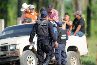 Policía en Honduras.