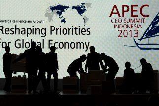 Todo listo para la cumbre de laAPEC.