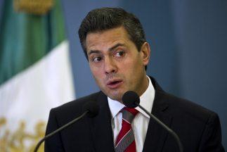 El presidente electo de México, Enrique Peña Nieto, del Partido Revoluci...