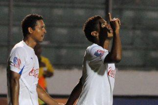 Olimpia de Honduras derrotó al Alpha United a domicilio.