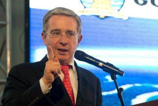 El expresidente de Colombia,Álvaro Uribe.